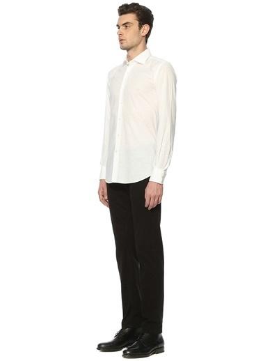 Uzun Kollu Klasik Gömlek-Slowear